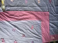 Single Duvet & Matching Curtains