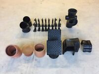 110mm Drainage Fittings and Marley Gutter Fittings