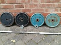 CAST IRON WEIGHTS SET