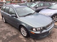 2002/02 VOLVO V40 1.9S 5 DOOR ESTATE,HIGH SPEC INC HEATED LEATHER ,LOOKS AND DRIVES WELL