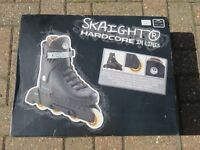 Inline skates – size 39 or size 6. Boxed - worn once!