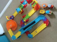 Toot Toot train station and construction site