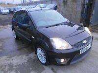 2006 FORD FIESTA 1.6 ZETEC S 3DOOR SPORT BLACK, SERVICE HISTORY, HPI CLEAR, DRIVES VERY NICE