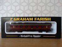 Graham Farish N Gauge - 374-845 - Stanier Vestibule 1st LMS Crimson Lake