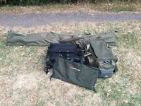Fishing tackle full carp set up