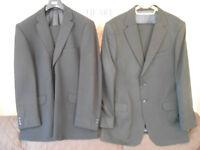 2x black suits and 1x navy blazer