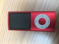 iPod nano 4th Generation 8Gb Product Red