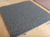Carpet tiles for sale nice green fleck colour just 90 pence each