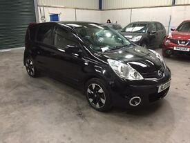 2012 Nissan note n-tec+ 1.5 dci low miles pristine sat nav leather guaranteed cheapest in country