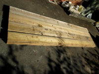 Railway Sleepers - Four Softwood 3000mm x 200mm x 100mm