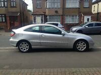 Mercedes-Benz C Class 2.1 C220 CDI Sports Coupe, Facelift, Full leather, Auto+Diesel, Smooth Drive