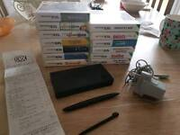 Dsi, receipt, games and charger