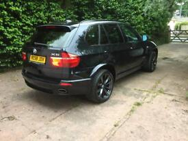 BMW X5 35d 7 seater in carbon black