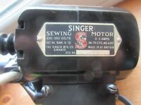 Singer sewing machine motor
