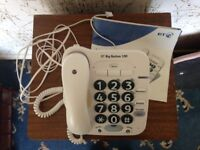 BT big button home house telephone for elderly / visually impaired with built-in answering machine
