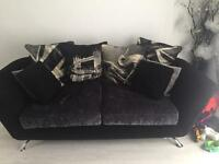 Gorgeous sofology napier 3 seater sofa & round swivel cuddle chair