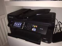 Epson WF-7610 Multifunction Print/Scan/Fax/Copy
