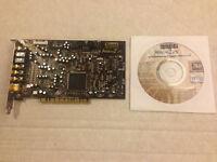 Creative Sound Blaster Audigy 2 ZS Internal 7.1 PCI Sound Card - Model # SB0350