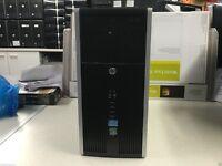 HP Elite 8300 Gaming Core i5 Quad Core, 8gb, 500gb, win 7 WIFI PC 3RD GEN I5