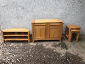 Marks & Spencer Sonoma Solid oak TV Cabinet * free furniture delivery *