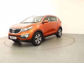 KIA SPORTAGE CRDI 3 (orange) 2011
