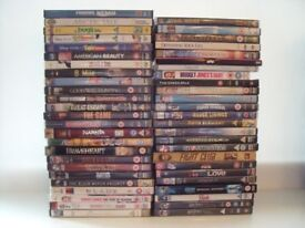 DVDs 50 Assorted, Excellent condition.