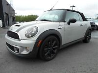 2011 MINI COOPER S CONVERTIBLE MAGS CUIR NAVIGATION