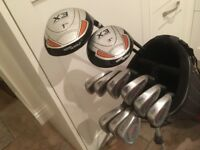 Golf clubs - Driver, Fairway Wood, Matching Irons (3i to SW) putter chipper-putter-bag-balls & more