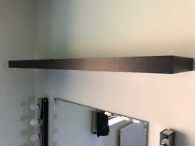 Ikea lack black/brown shelves/shelving units