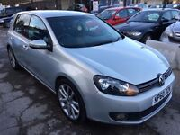 Volkswagen Golf 2.0 TDI GT DSG 5dr£6,485 p/x welcome FINANCE AVAILABLE. NEW MOT