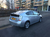 60 reg 2010 toyota prius 1.8 t spirit hybrid automatic, 2 owner, only 53k f/s/h, long mot, hpi clear