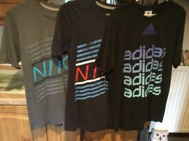 3 X men's sports top bundle. 2 X NIKE & 1 X ADIDAS size medium. BARGAIN PRICE FOR ALL NOT EACH !