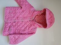 Next baby girl coat 12-18 months