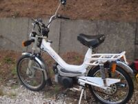 zebretta 50cc classic moped motted and ready to go