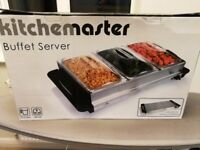 Buffet server / hotplate, new in box