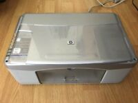HP PSC 1215 all-in-one printer/scanner/copier with ink cartridge
