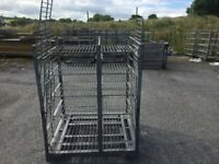 Galvanized Storage Trolleys