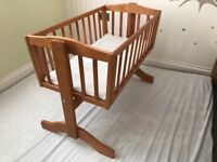 Baby swinging crib for sale