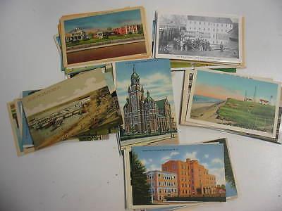 100 Older US Postcard Lot 88