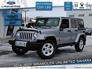 2014 Jeep Wrangler **UNLIMITED*SAHARA*NAVI*CRUISE*A/C**