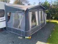 3/4 caravan awning (Gateway Rufford) + bedroom annex