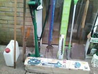 garden tools & tools joblot, buy the whole lot or single items