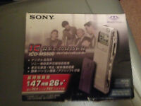 SONY IC Voice Recorder 48 Hours
