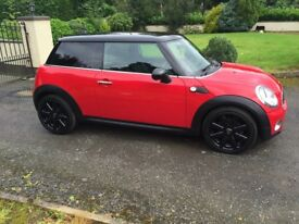 2010 MINI COOPER D, R56, Red with Black Roof, Wheels (Not Corsa, Polo, Fiesta, Fiat)