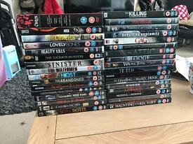 33 original horror dvds