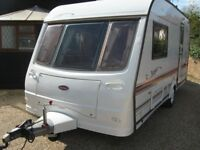 coachman vip 2 berth 2001 with brand new motor mover