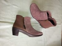 2 pr Hotter shoes. 2 pr Hotter ankle boots. Brand New size 6. Shoes are £8 and £10. Boots are £15.