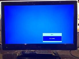 """Bush 22"""" HD ready TV with freeview"""