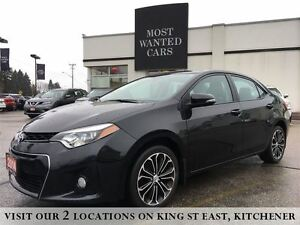 2014 Toyota Corolla S | LEATHER | CAMERA | SUNROOF | XENON
