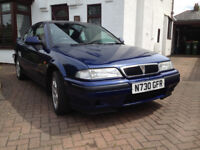 1995 Rover 216 Coupe Tahiti Blue For Sale